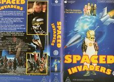 SPACED INVADERS - Douglas Barr-  VHS -PAL -NEW-Never played!-Original Oz release