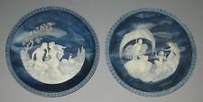 Incolay Cameo Collector's plates, The Voyage of Ulysses, First 2 Issues