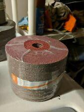 "Vsm Xf760 5"" x 7/8 Resin Fiber Sanding/Grinding Discs 40 Grit, Qty.50 per pack"