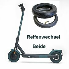 Soflow So6 E-Scooter Reifen S06 und Schlauch Wechsel Service Beide Werkstatt