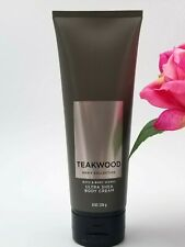 Bath and Body works Men's Collection TEAKWOOD Ultra Body Cream lotion 8 fl oz