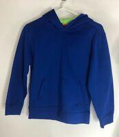 Starter Boys Youth Size L Blue Long Sleeve Hooded Sweatshirt