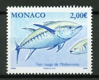 Monaco 2019 MNH Atlantic Bluefin Tuna 1v Set Fish Fishes Marine Stamps