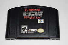 ECW Hardcore Revolution Nintendo 64 N64 Video Game Cart