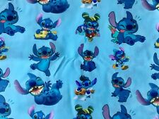OFFCUT  DISNEY LILO AND STITCH ALIEN ELVIS HAWAII  POLYCOTTON FABRIC CHARACTER
