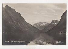 Norway Oie Nordangsfjorden Vintage RP Postcard 108b