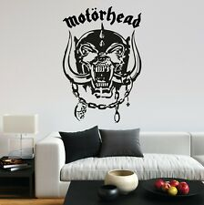 Motorhead Lemmy Inspired Music Rock Metal Portrait Wall Art Sticker Home UK