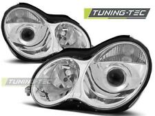 FARI ANTERIORI HEADLIGHTS MERCEDES W203 C-KLASA 07.00-03.04 CHROME