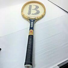 Vintage Bjorn Borg Bancroft Tennis Racket Champion Bamboo 4 1/2