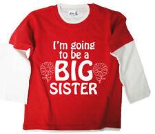 T-shirts, hauts et chemises rouge à manches longues pour fille de 10 à 11 ans