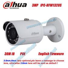 dahua DH-IPC-HFW1320S 3MP HD POE IR Network IP IP67 1080P security Bullet Camera