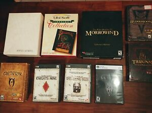 LOT Elder Scrolls series: Morrowind Collector's edition, Arena floppy edition