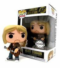 EXC rocas-Kurt Cobain figura De Vinilo #67 MTV Unplugged Funko Pop Pop
