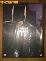 Ready Hot Toys MMS456 Justice League Batman (Deluxe Version) Ben Affleck 1/6 New