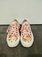 Details about Converse Chuck Taylor All Star Lift Pink White Floral Women Platform 566766C