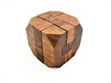 DIAMOND PUZZLE, 3D Wooden Puzzle Game, Interlocking Puzzle, Brain Teaser, NEW