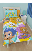 Bubble Guppies Splash Single Panel Duvet and pillow case cover kids REVERSIBLE
