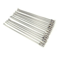 """21"""" Front Stainless Spokes Nipple For KTM EXC EXCF SX SXF XC XCF XCW MX 125-530"""