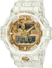 Casio G-Shock 35th Anniversary Glacier Gold GA735E-7A Skeleton Collection LTD