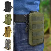 Outdoor Pouch Tactical Belt Bag Pouch Utility Pouch Hiking Camping New OW