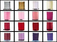 "1/4"" Paper Raffia Ribbon Choose Color & 10 Yds or 100 Yards Natural Fibers"