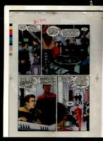 Star Trek Deep Space 9, #1 pG 13 DSN Original Production art 4 part acetate