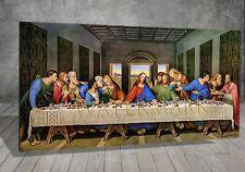 Leonardo Da Vinci The Last Supper RELIGION CHURCH PAINTING PRINT CANVAS ART 213