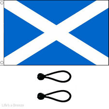 St Andrews Flag 5x3Ft Flag Poles Or Windsocks Poles. With Free Ball Ties. LIGHT