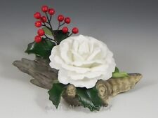 Boehm American Express CHRISTMAS ROSE WHITE #121 Mint