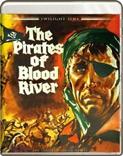 PIRATES OF BLOOD RIVER *Blu-ray *Christopher Lee HAMMER Twilight Time *RARE *OOP