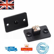 X2 Female Socket Panel Mounts For Barrel Jack Plug 12V Power Connector 5.5x2.1mm