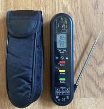 TAYLOR Dual PROBE INFARED Splash Proof Digital Temperature Thermometer 9306N