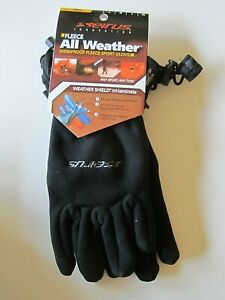 SEIRUS INNOVATION ALL WEATHER WINDPROOF FLEECE SPORT GLOVES LADIES SMALL NEW