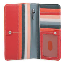 Mywalit Medium Leather Matinee 10 Card Purse Wallet With Pen 237