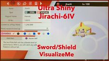 Pokemon Sword And Shield - ULTRA SHINY Battle Ready 6IV Jirachi - SWSH