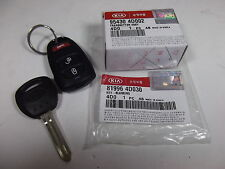 GENUINE KIA GRAND CARNIVAL MPV ALL MODEL 3 BUTTON REMOTE & KEY SET