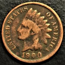 1900 Indian Head Cent, Circulated, NOT For Grading, Use For Your Coin Book,#0663