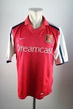 Arsenal London Trikot Gr. M 2000-2001 Home Jersey Nike Dreamcast London
