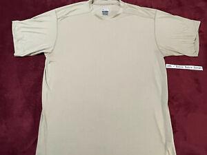 Columbia TITANIUM Mens 2XL - EXTRA EXTRA LARGE - TAN T Shirt