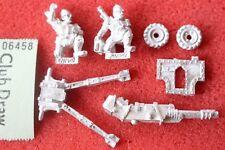 Games Workshop Warhammer 40k Praetorian Lascannon Team Imperial Guards New Metal
