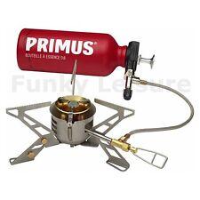 Primus OmniFuel Réchaud + 0.6L Bouteille - Utilise N'Importe Quel Combustible