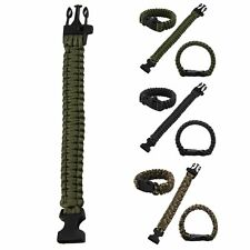 550 Paracord Military Camping Hiking Hunting Survival Bracelet Parachute Cord US