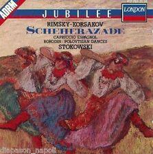 Rimsky-Korsakov: Scheherazade, Capriccio espagnol / Leopold Stokowski - CD