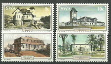 Südwestafrika - Historische Gebäude postfrisch 1977 Mi. 436-439