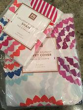Pottery Barn Teen Lollipop Bouquet F/Q Full Queen Duvet 2 Standard Shams Multi