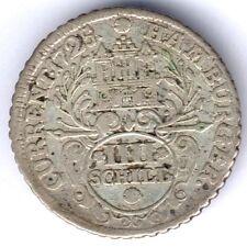 Hamburg-Stadt IIII Schillinge 1725 I.H.L. (Silber) ss