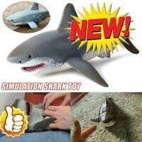 Lifelike Shark Shaped Toys Realistic Simulation Animal Model for Kids Xmas Gifts