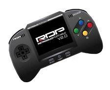 Retro Duo Portable RDP Nintendo SNES & NES Handheld Console V2.0 Core Ed. - BLK