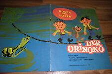 DDR Comic -- BOLEK u. LOLEK am ORINOKO // 1. Auflage 1976 VEB Domowina Bautzen