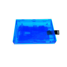 Clear Blue Internal Hard Disk Drive HDD Case for XBOX 360 Slim / XBOX 360E